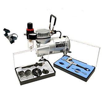 Airbrush Supply Online Complete D/Action Airbrush Kit W/2