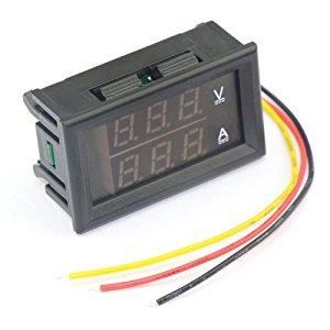 Brilliant Drok Digital Voltmeter Ammeter Voltage Current Meter Dc 4 Lack Wiring 101 Ferenstreekradiomeanderfmnl